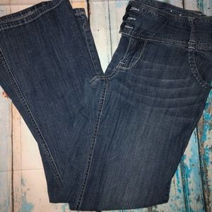 American Rag Cie jeans size 7 FLARE LEG - P1